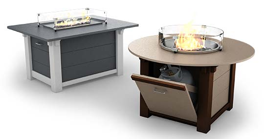 Sister Bay Fire Tables